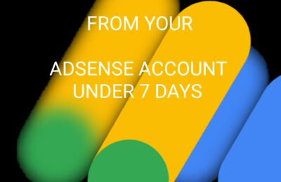 How to remove ads limit from your google Adsense Account Under 7 Days
